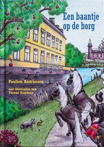 De voorkant van het boek 'Een baantje op de borg' geschreven door Paulien Andriessen
